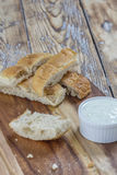 Varas de pão lisas Fotos de Stock Royalty Free