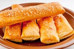 Varas de sal com queijo Imagens de Stock Royalty Free