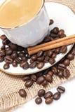 Varas do café e de canela. Fotos de Stock