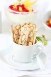 Varas do cereal com porcas Fotos de Stock Royalty Free