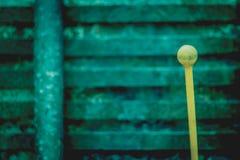 Varas do Glockenspiel da percussão dos malhos Fotos de Stock Royalty Free