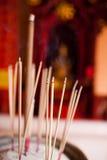 Varas do incenso Imagens de Stock Royalty Free