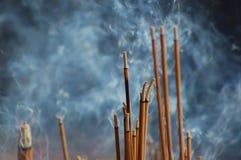 Varas do incenso Foto de Stock