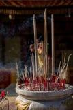 Varas do incenso Fotografia de Stock Royalty Free