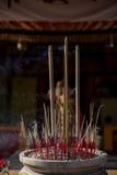 Varas do incenso Imagens de Stock