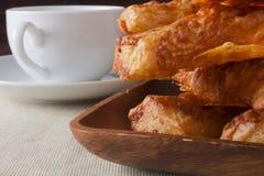 Varas do queijo cheddar Imagem de Stock