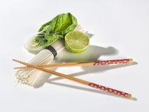 Varas do sushi com vegetais Imagem de Stock Royalty Free