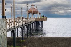 varas puerto της Χιλής στοκ εικόνα