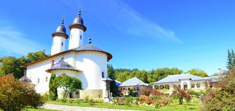 Varatec monastery Royalty Free Stock Photography