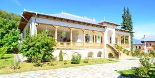 Varatec monastery-simple house Stock Image