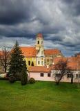 Varazdin。克罗地亚。 免版税库存照片