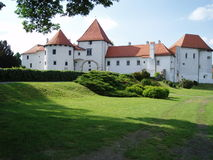 Varazdin castle. A photo of the Varazdin castle (Old city) on a sunny day Stock Photography