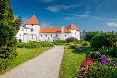 Varazdin castle, Croatia Stock Images