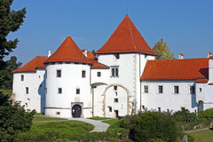 Varazdin castle Royalty Free Stock Images
