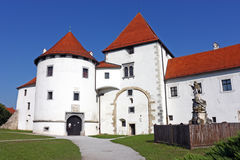 Varazdin castle Stock Photo