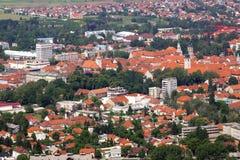 Varazdin, City In Northwestern Croatia Royalty Free Stock Photography