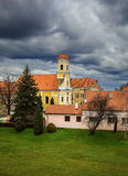 Varazdin. Kroatien. royaltyfria foton