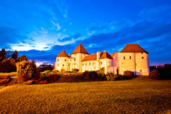 Varazdin old town architecture view Stock Photo