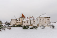 Varazdin Old Town and Castle Royalty Free Stock Photography