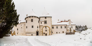 Varazdin Old Town and Castle Stock Image