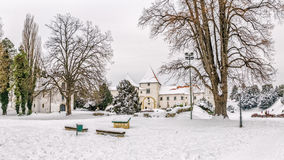 Varazdin Old Town and Castle Royalty Free Stock Photo