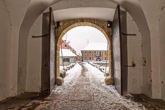 Varazdin Old Town gate Royalty Free Stock Photo