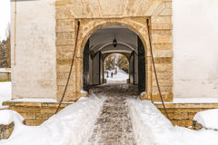 Varazdin Old Town gate Royalty Free Stock Images