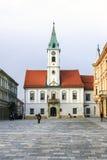 Varazdin's City hall Royalty Free Stock Image