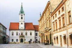 Varazdin's City hall Royalty Free Stock Photography