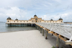 Varberg Bathhouse Royalty Free Stock Photo