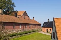 Varberg Festung stockfoto