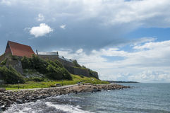 Varberg fortress Royalty Free Stock Photos