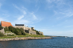 Varberg fortress Royalty Free Stock Image