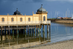 Varberg public bath, Sweden Royalty Free Stock Photography