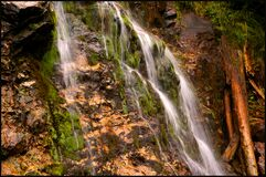 Free Varciorog Waterfall Arieseni, A Beautiful Waterfall In Bihor, Romania Stock Photography - 178867282