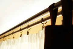 vardagsrumbehandlingfönster Royaltyfri Bild