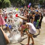 Vardavar vattenfestival Arkivfoton