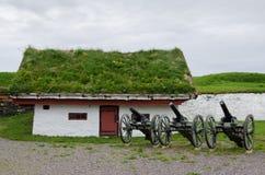 Vardo-Festung stockbilder