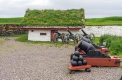 Vardohus-Festung in der Stadt von Vardo, Finnmark, Norwegen Stockbilder