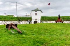 Vardohus-Festung in der Stadt von Vardo, Finnmark, Norwegen Lizenzfreies Stockfoto