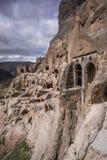Vardsia georgiano antiguo de la ciudad de la cueva del acuerdo imágenes de archivo libres de regalías
