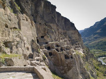 Vardzia Royalty Free Stock Photos