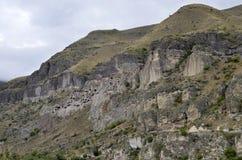 Vardzia. An ancient cave monastery in Georgia Royalty Free Stock Photography