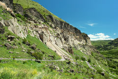 Vardzia ancient cave monastery, near Akhaltsikhe city, Georgia Royalty Free Stock Photo