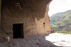 Vardzia cave city complex Stock Photos