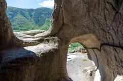 Vardzia cave city complex Royalty Free Stock Photo