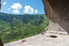 Vardzia cave city complex Stock Image