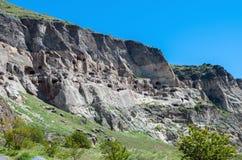 Vardzia cave city complex Royalty Free Stock Image