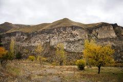 Vardzia cave city monastery Stock Photography