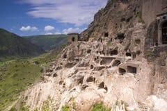 Vardzia cave monastery complex. Georgia royalty free stock images